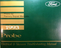 1993 Ford Probe Electrical & Vacuum Troubleshooting Manual