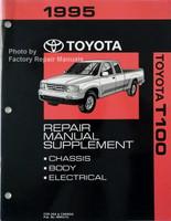 1995 Toyota T100 Repair Manual Supplement