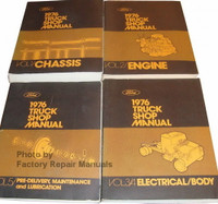 1976 Ford Truck Shop Manuals