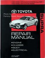 1995 1996 Toyota Supra Repair Manual