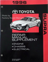 1996 Toyota Supra Repair Manual Supplement