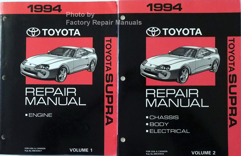 1994 toyota supra factory service manual set original shop repair rh factoryrepairmanuals com Toyota 2JZ Specs Toyota 2JZ Specs