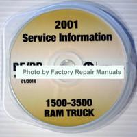 2001 Service Information Ram Truck 1500-3500