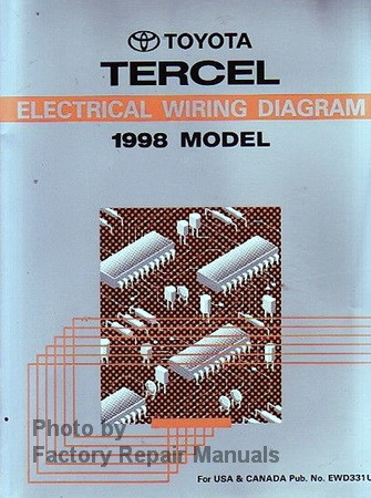 98 Toyota Electrical Wiring Diagram - Circuit Diagram Symbols •