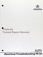 Acura  3.2L TL Electrical Troubleshooting Manual 99-03