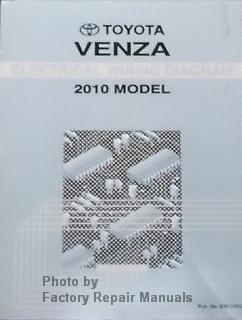2010 toyota venza electrical wiring diagrams original. Black Bedroom Furniture Sets. Home Design Ideas