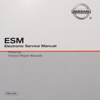 2016 Nissan  NV 1500 2500 3500 Van Electronic Service Manual ESM
