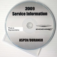 2009 Service Information Chrysler Dodge Aspen Durango
