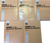 2009 Pontiac G6 Service Manuals