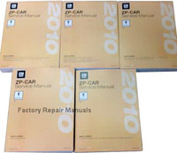 2010 Pontiac G6 Service Manuals
