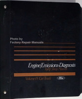 1987 Ford Lincoln Mercury Car & Truck Engine/Emissions Diagnosis Service Manual
