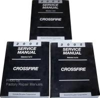 2005 Chrysler Crossfire Service Manual Volume 1, 2, 3
