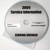2009 Service Information Chrysler Dodge Sebring Avenger