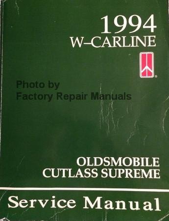 1994 Oldsmobile Cutlass Supreme Service Manual