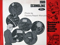 1989 Econoline Ford Electrical & Vacuum Troubleshooting Manual