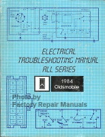 1984 Oldsmobile All Models Electrical Troubleshooting Manual