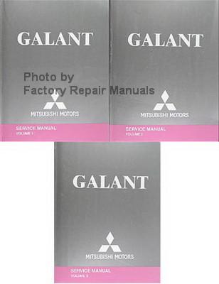 2005 mitsubishi galant factory service manual set original shop rh factoryrepairmanuals com Mitsubishi Galant VR4 Mitsubishi Galant Manual Transmission Interior