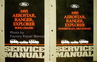 1995 Ford Aerostar, Explorer, Ranger Service Manual Volume 1, 2