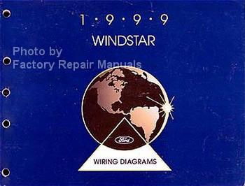 1999 Ford Windstar Electrical Wiring Diagrams Original Manual ...
