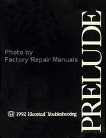 Honda 1992 Electrical Troubleshooting Manual
