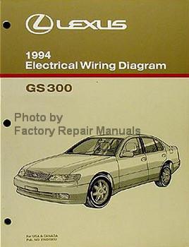 1994 Lexus GS300 Electrical Wiring Diagrams GS 300 ...
