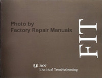 Honda Fit 2009 Electrical Troubleshooting Manual