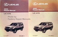 Lexus 1999 Repair Manual LX 470