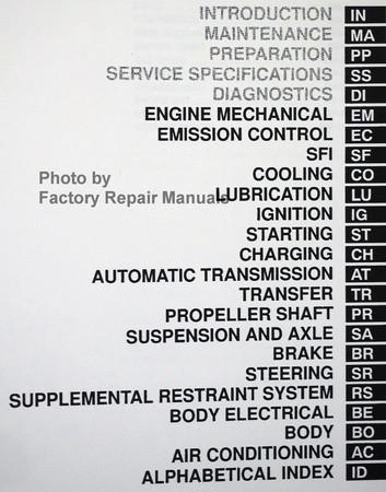 1999 lexus lx470 factory service manual set lx 470 shop repair used rh factoryrepairmanuals com lexus lx470 manual transmission lexus lx470 service manual download