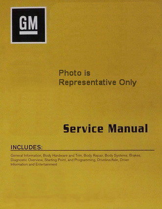 2016 cadillac xts factory service manual set original shop repair rh factoryrepairmanuals com oem gm service manuals gm factory service manual torrents