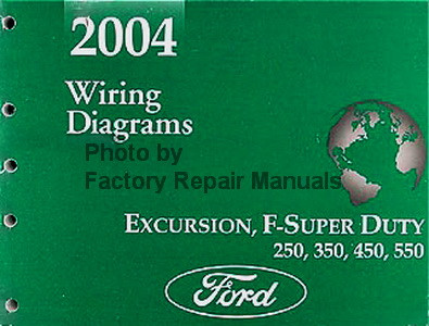 2004 ford f250 f350 f450 f550 super duty truck excursion. Black Bedroom Furniture Sets. Home Design Ideas