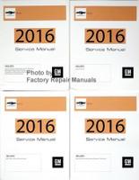 2016 Chevrolet Sonic GM Service Manual Volume 1, 2, 3, 4