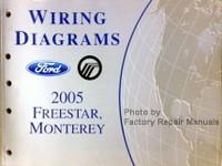 Wiring Diagrams 2005 Ford Freestar Mercury Monterey