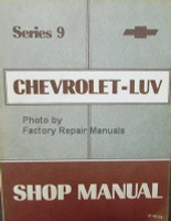 Series 9 Chevrolet Luv Shop Manual