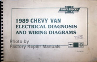 1989 Chevy G Van Electrical Diagnosis and Wiring Diagrams