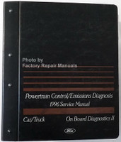 Powertrain Control/Emissions Diagnosis 1996 Service Manual Car/Truck On Board Diagnosics II