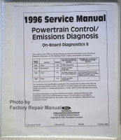 Powertrain Control/Emissions Diagnosis 1996 Service Manual Car/Truck On Board Diagnosics IIB
