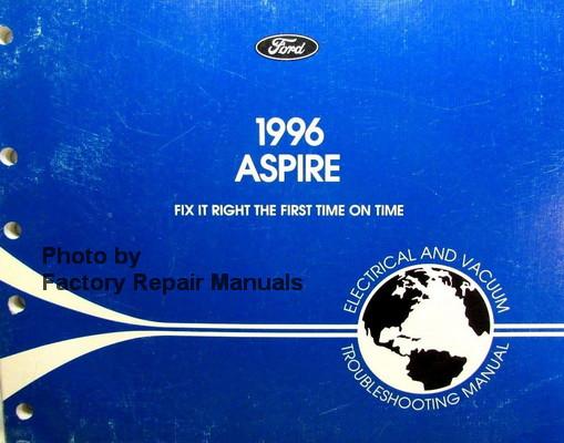 1996 ford aspire electrical troubleshooting vacuum manual wiring rh factoryrepairmanuals com Ford Escape Trailer Wiring Diagram Ford Escape Trailer Wiring Diagram