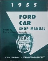 1955 Ford Car Shop Manual