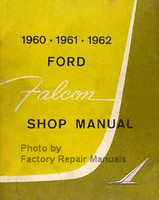 1960 1961 1962 Ford Falcon Shop Manual