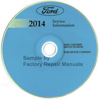 Ford 2014 Service Information F250 F350 F450 F550 Super Duty