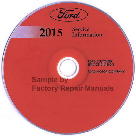 2015 ford focus factory service manual cd original shop repair factory repair manuals. Black Bedroom Furniture Sets. Home Design Ideas