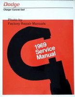 Dodge Charger/Coronet/Dart 1969 Service Manual