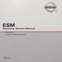 2017 Nissan Titan ESM Electronic Service Manual CD-ROM