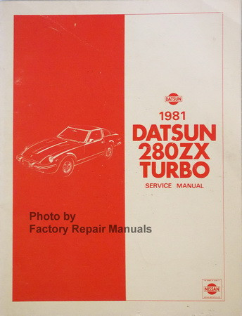 1981 datsun 280zx turbo service manual supplement original nissan rh factoryrepairmanuals com 280ZX Interior 280ZX Interior