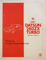 1981 Datsun 280ZX Turbo Service Manual