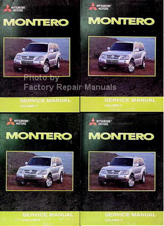 2003 mitsubishi montero factory service manual set original shop rh factoryrepairmanuals com 2003 mitsubishi montero owners manual pdf 2003 mitsubishi montero sport owners manual pdf