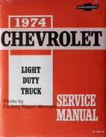 1974 Chevrolet Light Duty Truck Service Manual