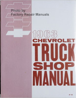 1963 Chevrolet Truck Shop Manual