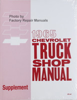 1965 Chevrolet Truck Shop Manual Supplement