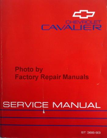 1993 Chevrolet Cavalier Service Manual